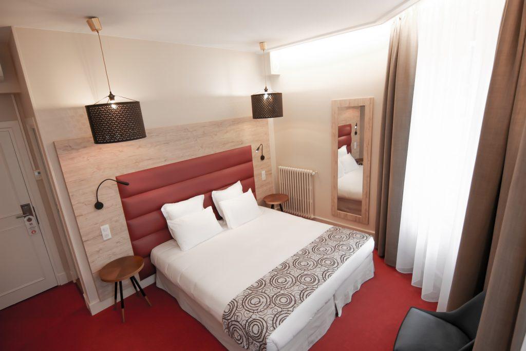Magnifique chambre confort - hotel montaigne sarlat, en dordogne