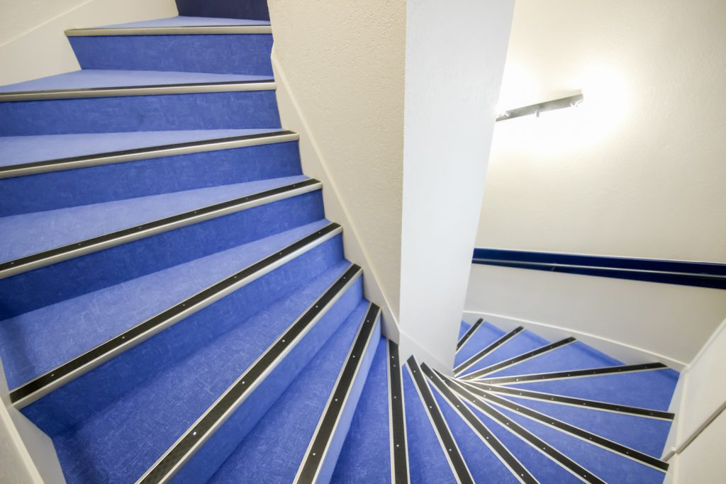 Cage d'escalier - Hotel Montaigne Sarlat