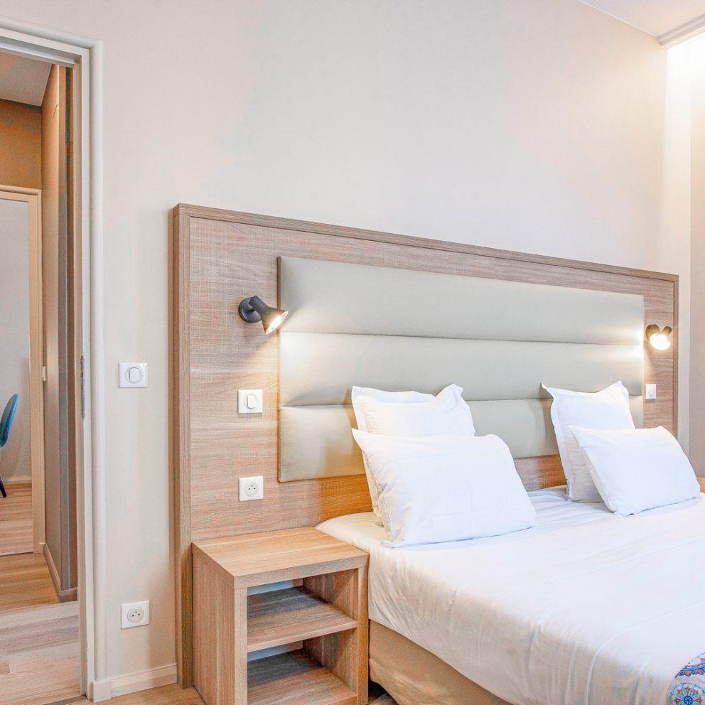 Family bedroom - Hotel montaigne - Sarlat - Dordogne - Perigord