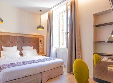 Standard bedroom - Hotel montaigne - Sarlat la canéda