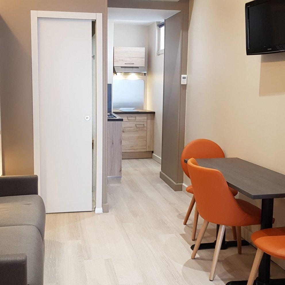 Salon Appart Hôtel Montaigne Sarlat